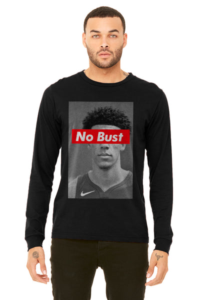 No Bust Lonzo Long Sleeve - Basketball Forever Shop