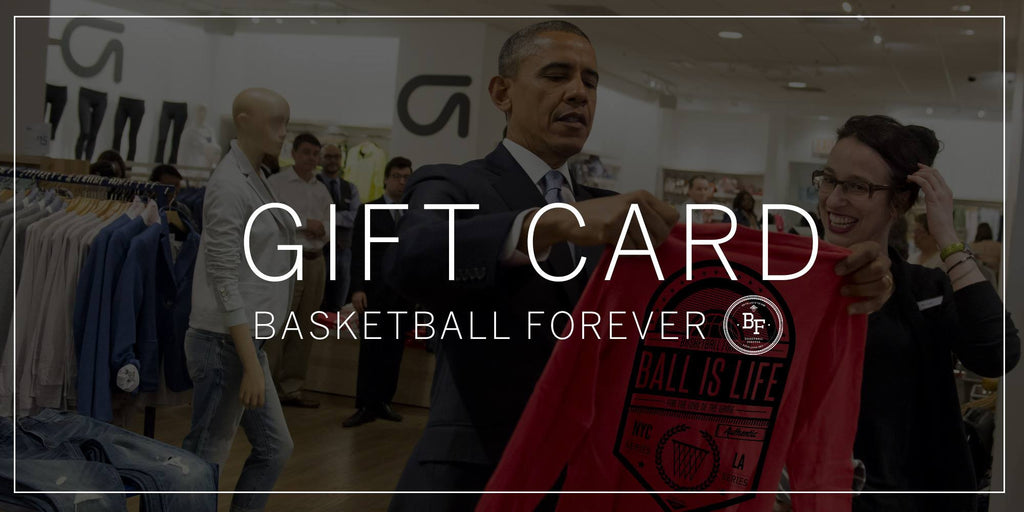 Basketball Forever Gift Card - No fees and 12 months to use!