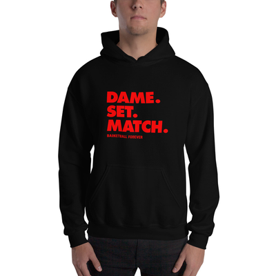 DAME. SET. MATCH Hoodie - Basketball Forever Shop