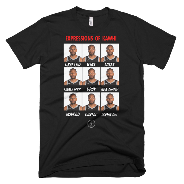 Expressions Of Kawhi - Basketball Forever Shop