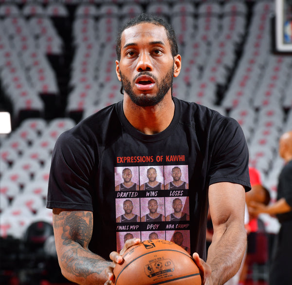 Expressions Of Kawhi Long Sleeve - Basketball Forever Shop