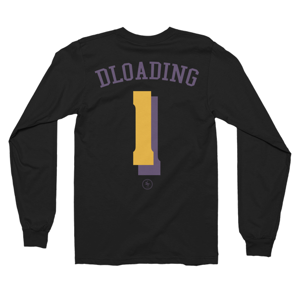 Long Sleeve DLoading 'Always Reppin' - Basketball Forever Shop