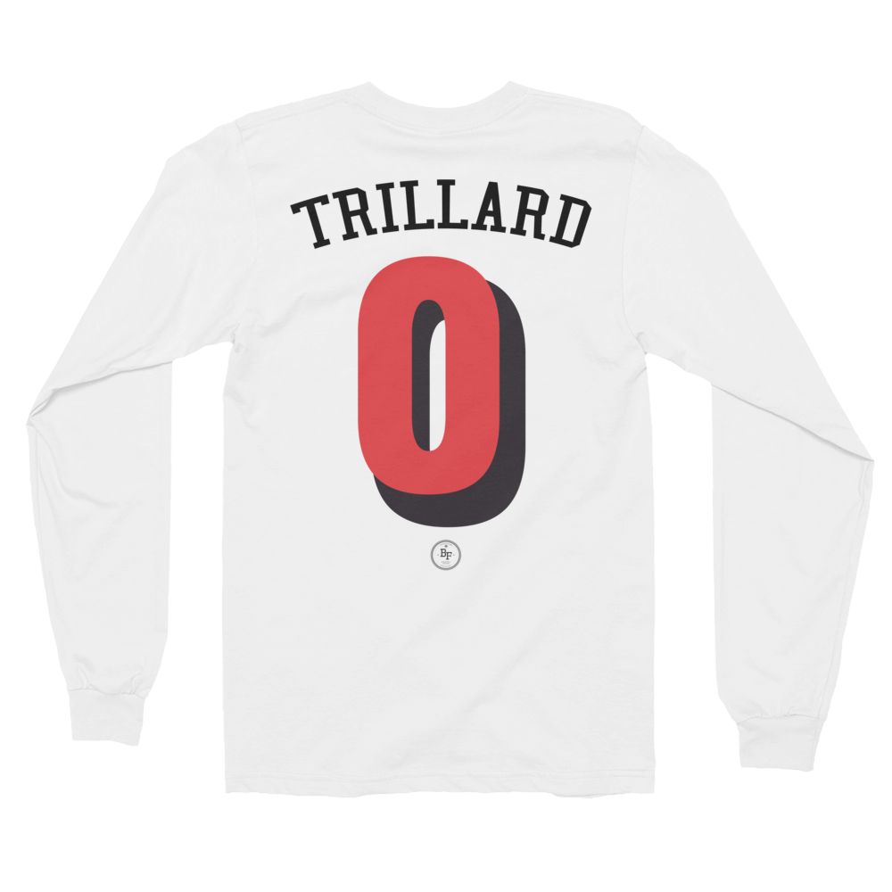 Long Sleeve Trillard 'Always Reppin' - Basketball Forever Shop