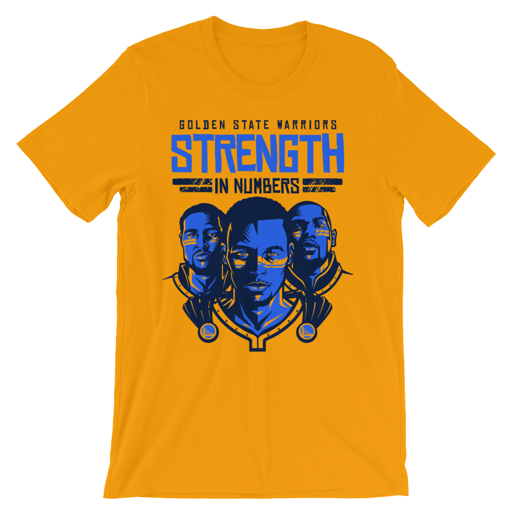 Strength In Numbers - Golden State Warriors - Basketball Forever Shop