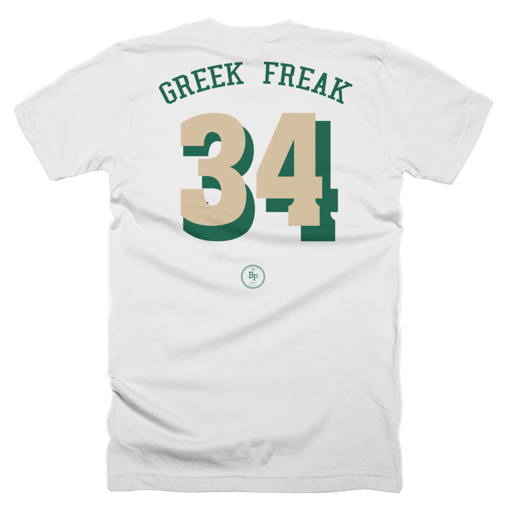 b8c8c0d0979 Greek Freak  Always Reppin  Giannis Antetokounmpo Shirt – Basketball ...