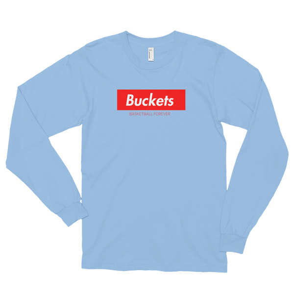 Long Sleeve - BUCKETS - Basketball Forever Shop