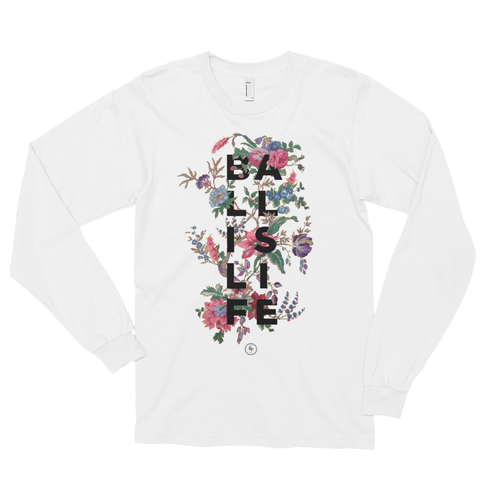 Long Sleeve Floral Ball Is Life - Basketball Forever Shop