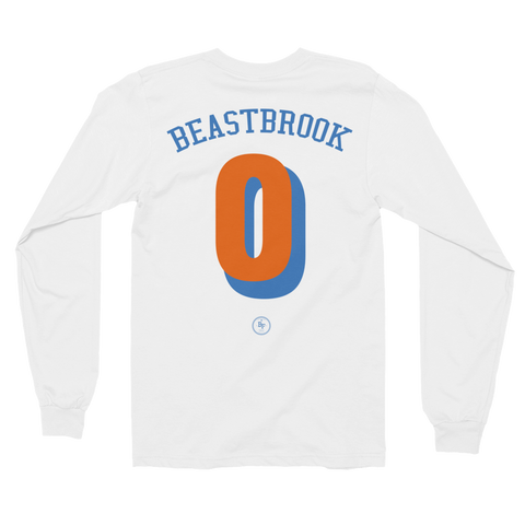 Long Sleeve Beastbrook 'Always Reppin' - Basketball Forever Shop