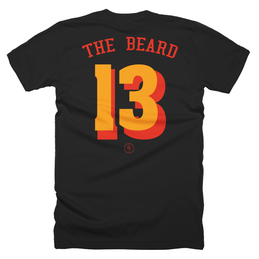 The Beard 'Always Reppin' - Basketball Forever Shop