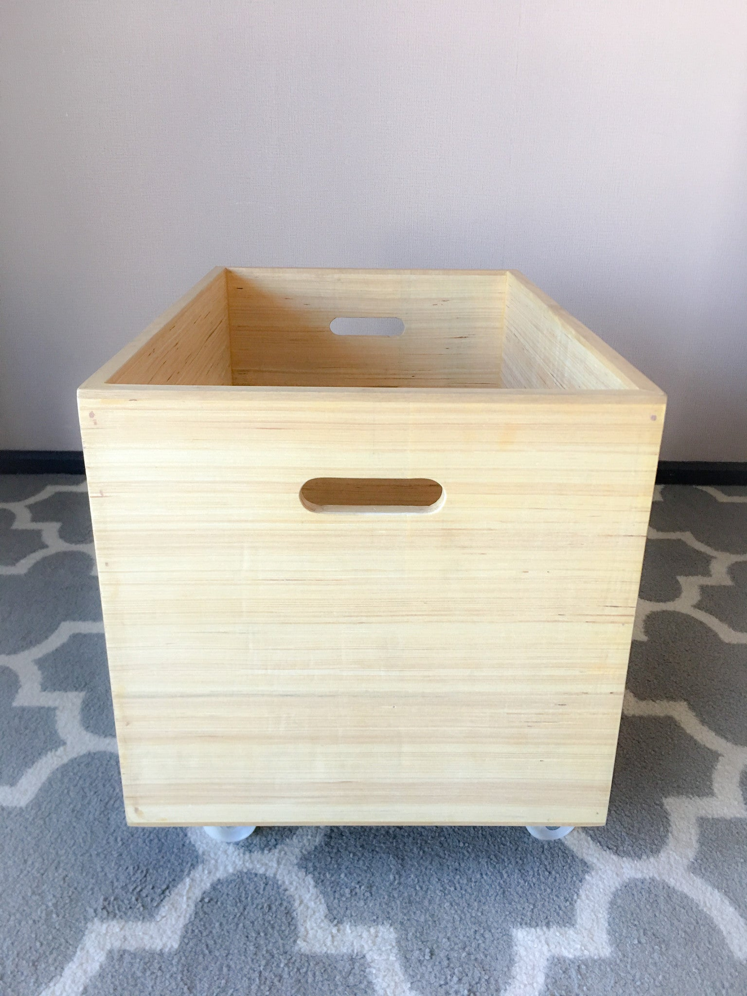Toy Crate Wheelers- Movable Toy Chest