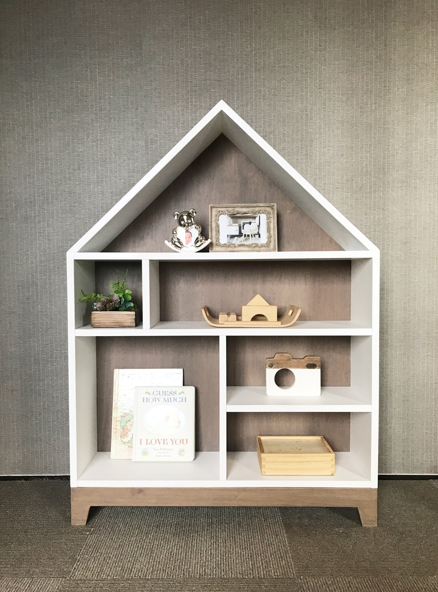 NEW Dollhouse Bookshelf