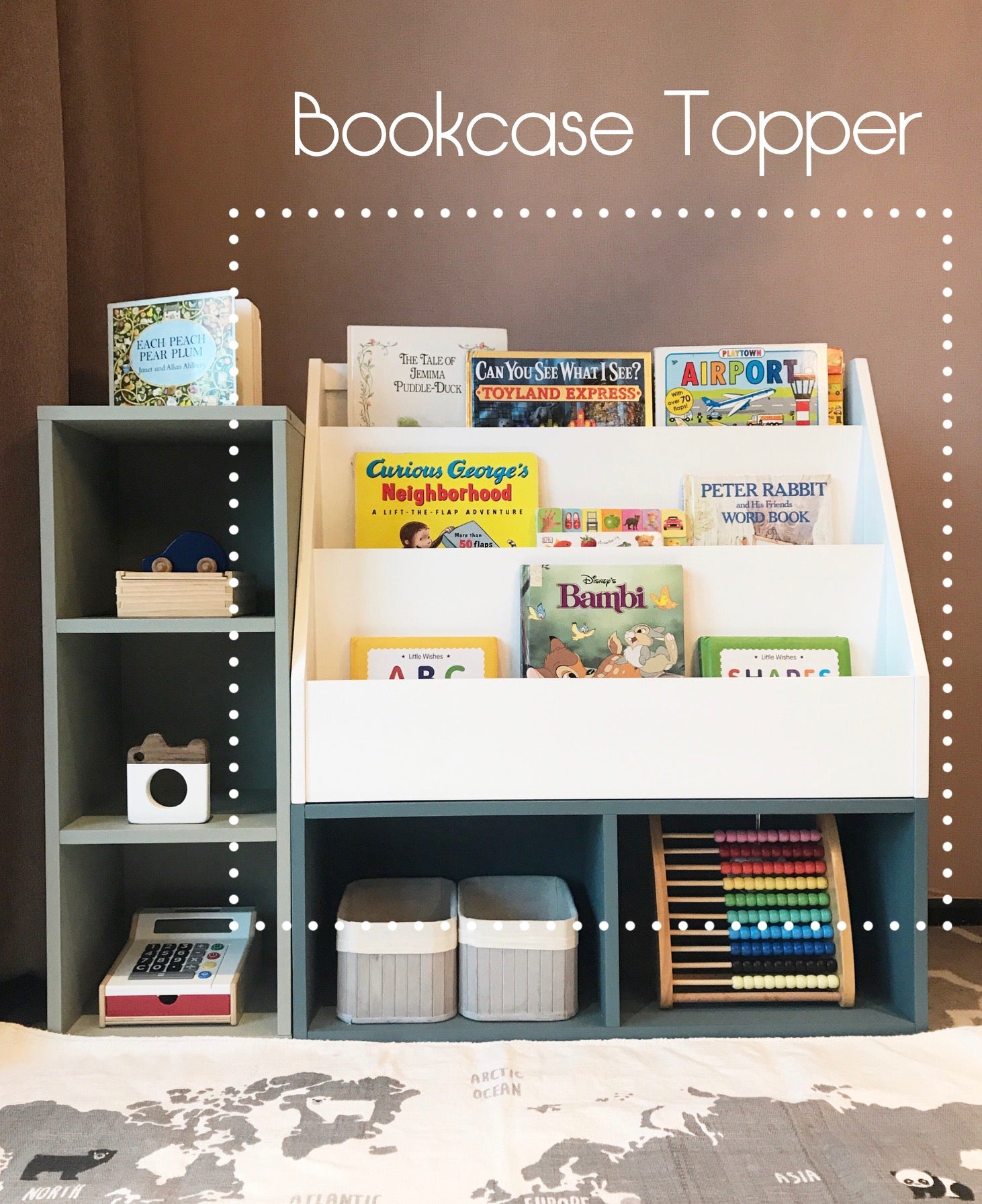 Bookcase Topper (SOLD OUT)