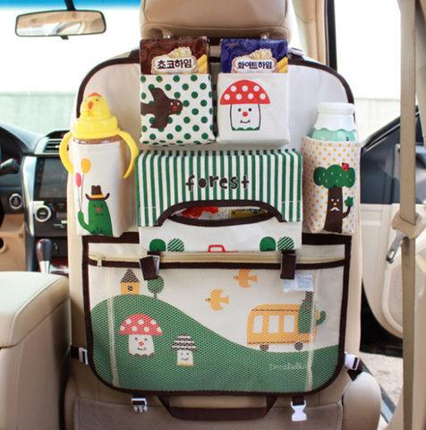 Cute Baby Waterproof Car Storage Organizer