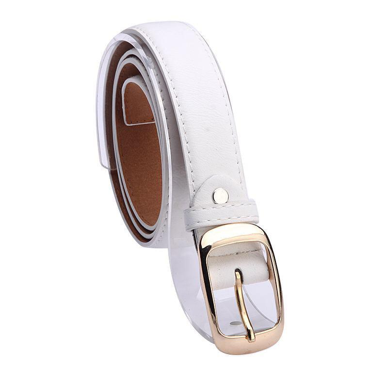 Women's Fashion Faux Leather Belt