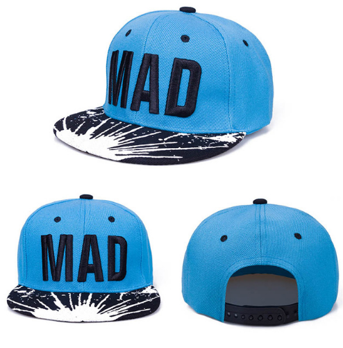 Hip Hop MAD Children Snapback Cap