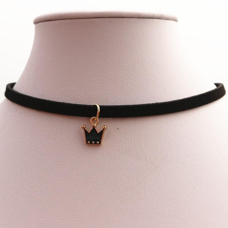 Crown Choker Necklace