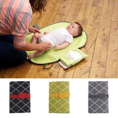 Foldable Diaper Changing Clutch Bag