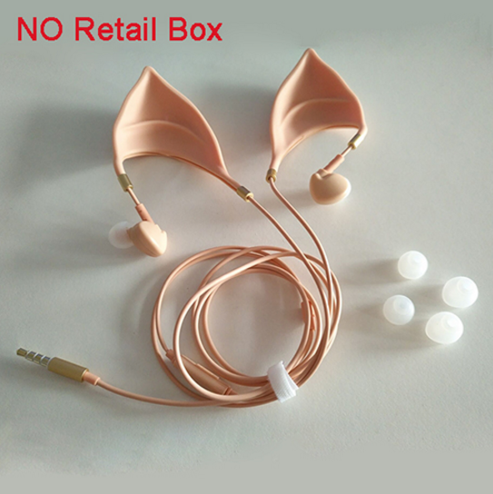 Elf Ears Design Ultra-soft Earphones