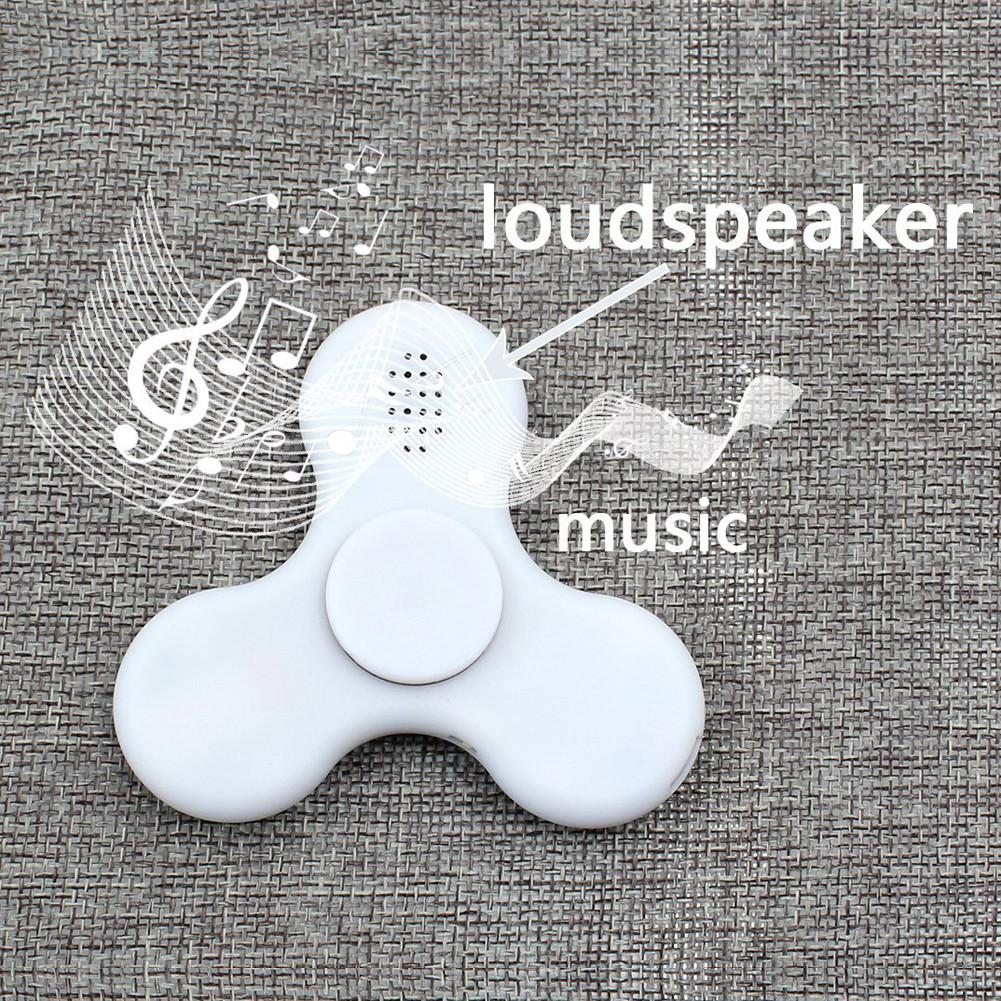 LED Bluetooth Speaker Fidget Spinner