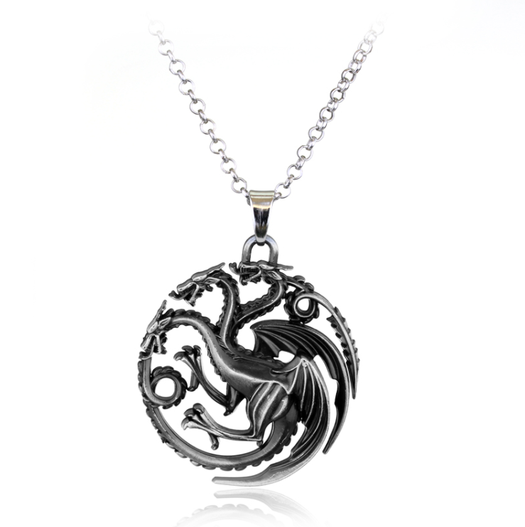 red art by on key deviantart dragon necklace