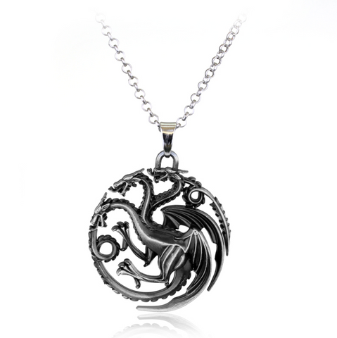 His & Hers Game Of Thrones Khal & Khaleesi Inspired Necklace