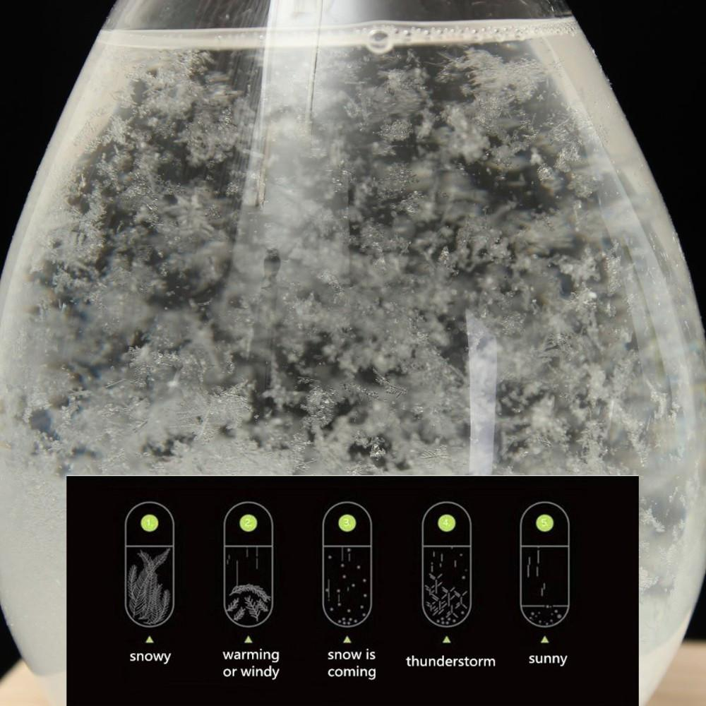 TearDrop Storm Glass Weather Forecast Home Decor