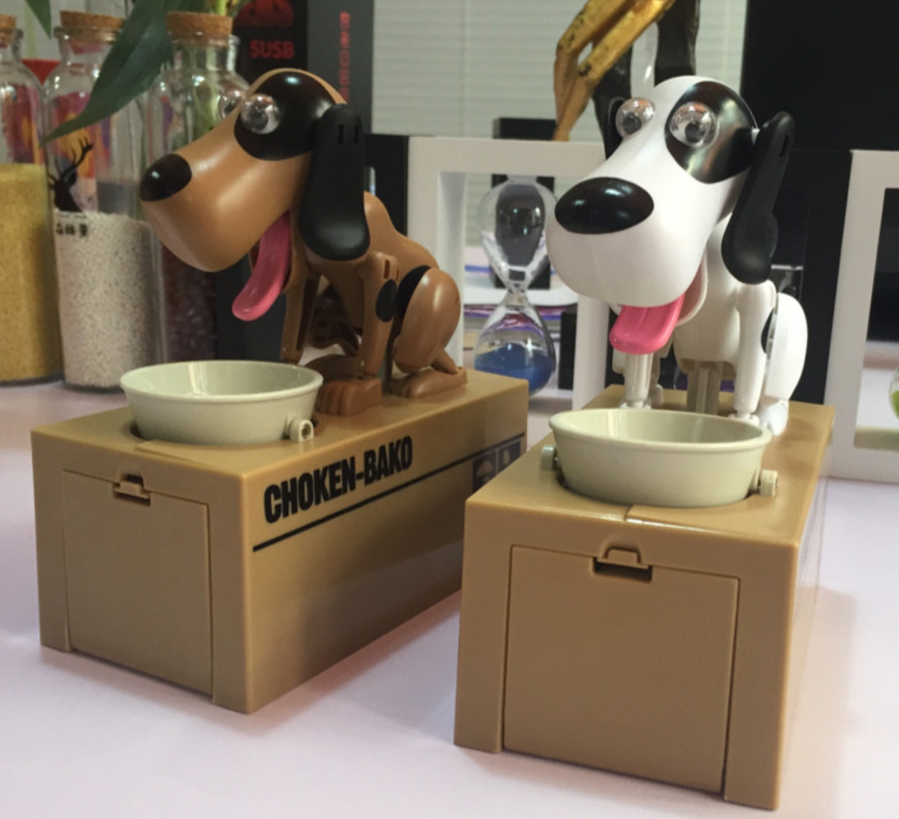 Hungry Puppy Coin Box