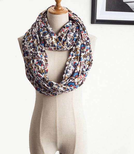 Scarf With Pocket