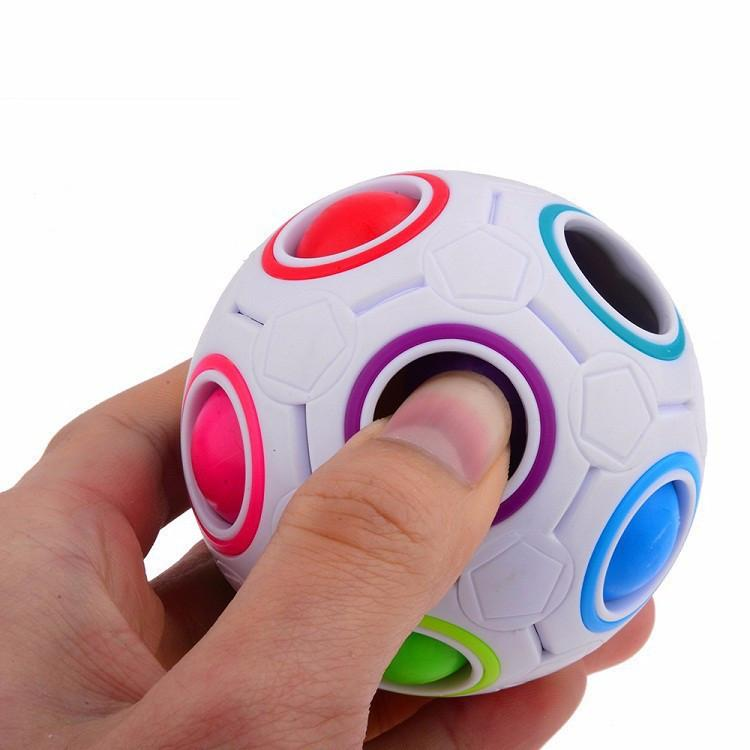 Spherical Magic Rainbow Puzzle Ball