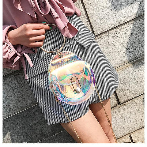 Laser Transparent Shoulder Bag