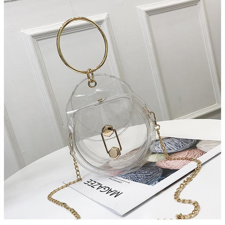 Laser Transparent Fashion Bag