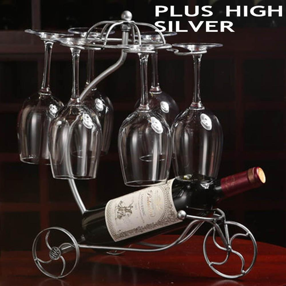 Tricycle Wine Bottle Decorative Rack
