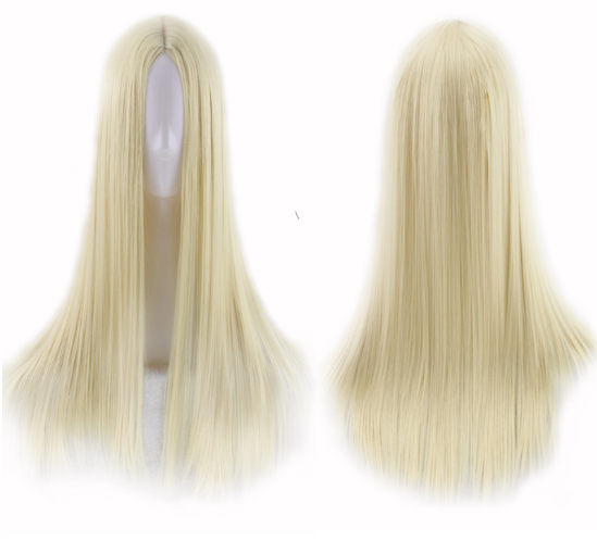 Long Straight Heat Resistant Synthetic Wig