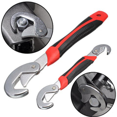 2pcs/Set Universal Multi-Function Adjustable Wrench Spanner