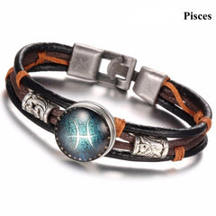 Zodiac Snap Button Bracelet