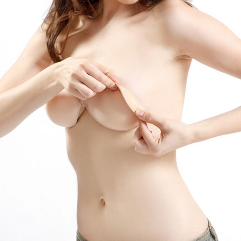 Sexy Self-Adhesive Silicone Invisible Push Up Bra