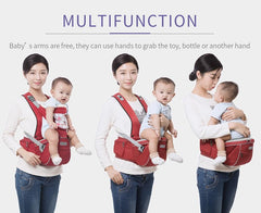 Ergonomic Baby Carrier with Hipseat (0-36 Months)
