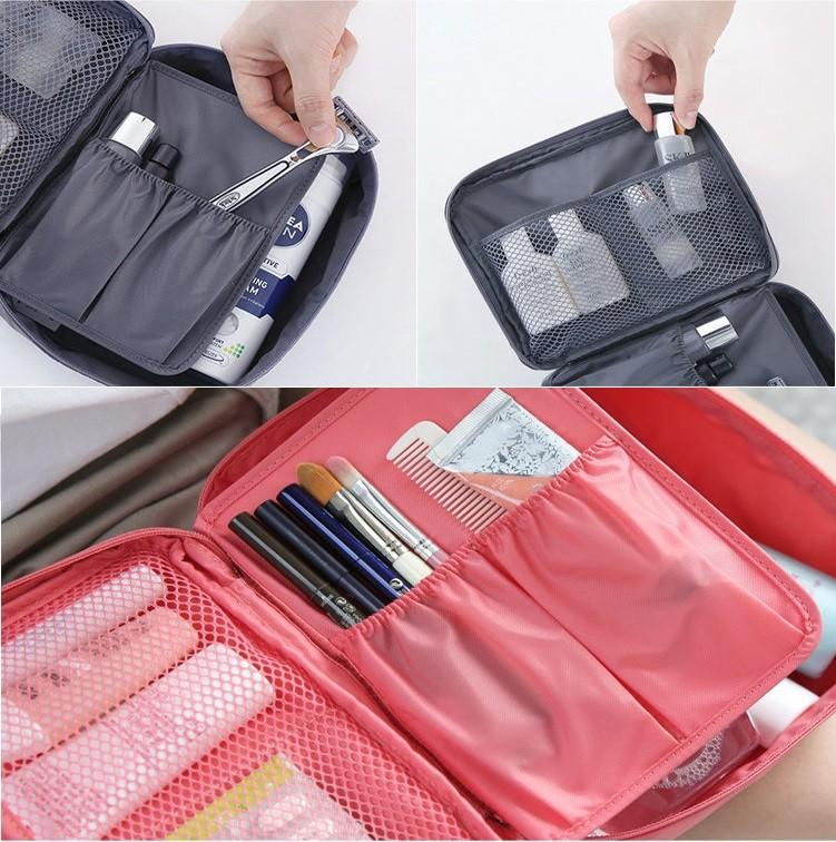 Portable Toiletry Cosmetic Travel Kit