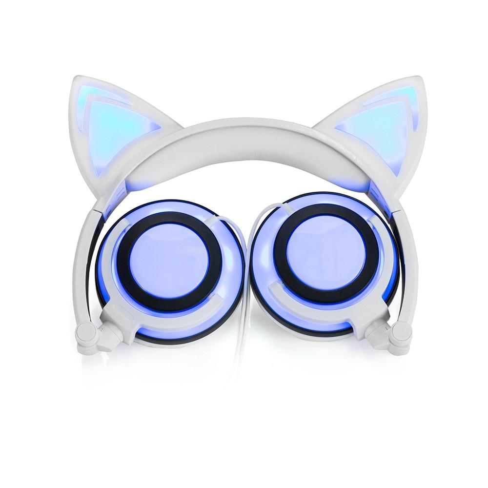 LED Cat Ear Headphone