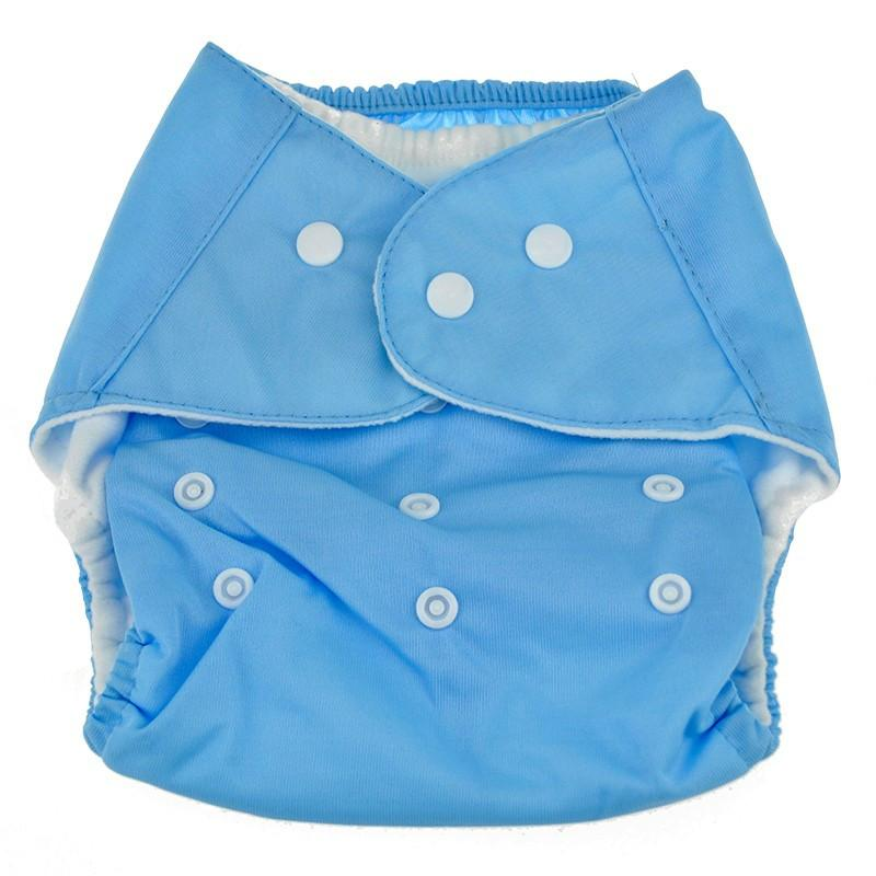 All-In-One (AIO) Reusable Baby Cloth Diaper with Insert