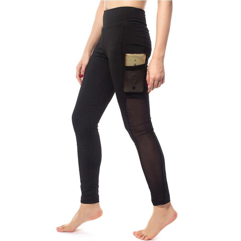 Gothic Leggings With Pocket