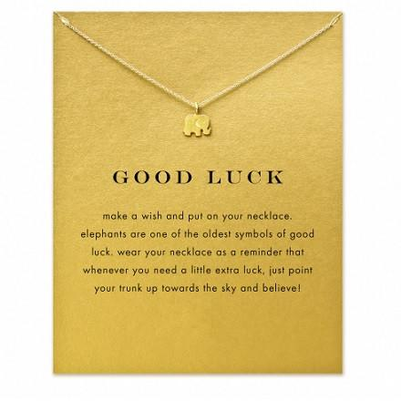 FREE Good Luck Elephant Pendant Necklace Giveaway