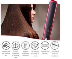 Fast Styling Ceramic Hair Straightener Comb