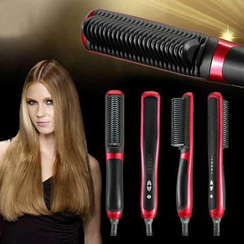 Fast Electric Hair Straightening Brush