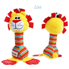 Colorful Baby Soft Plush Animal Toys