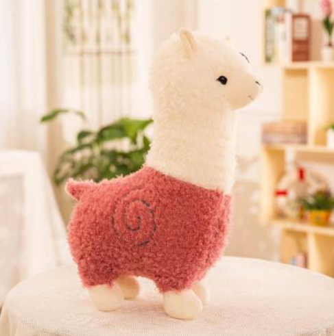 Lovely Llama Plush Toy