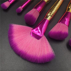 7pcs Mermaid Brush Set