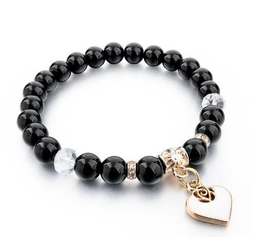 FREE Pure Natural Stone Bracelet With Gold Heart Giveaway