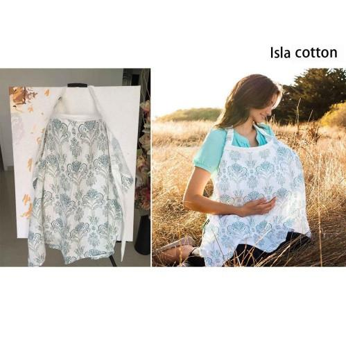Baby Nursing Cover - Breathable Cotton - L Size