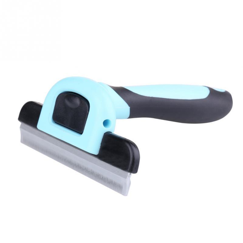 Pet Deshedding Tool & Grooming Brush For Small, Medium & Large Dogs + Cats